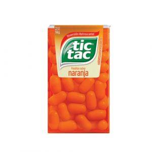 Pastillas Tic Tac Naranja