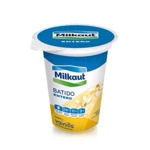 Yogur Milkaut Entero Vainilla