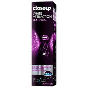Crema Dental Close-Up White Atraction Platinum