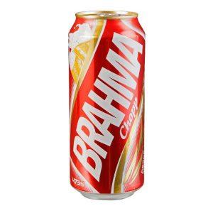 Cerveza Brahma Lata