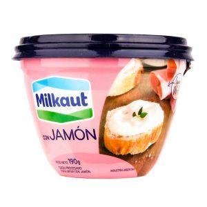 Queso Milkaut Jamón