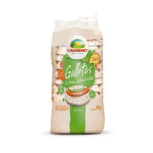 Galletitas de Arroz con Stevia