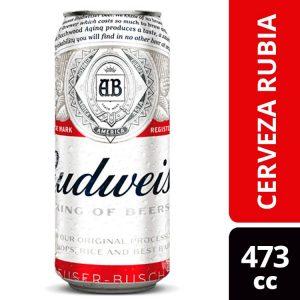 Cerveza Budweiser Lata