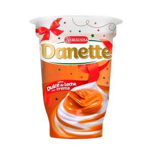 Postre Danette Copa Dulce De Leche