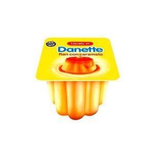 Flan Danette Con Caramelo