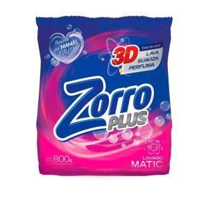 Jabón en Polvo Zorro Matic Clásico