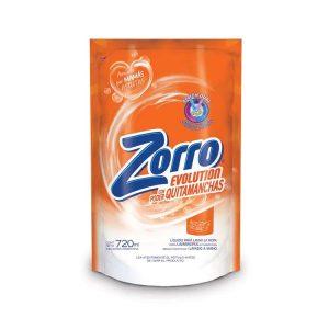 Jabón Líquido Zorro Evolution