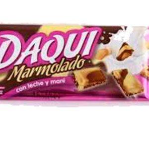 Chocolate Daqui Marmolado