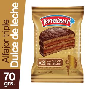 Alfajor Terrabusi Triple Chocolate
