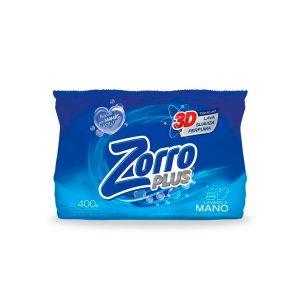 Jabón en Polvo Zorro Regular Clásico