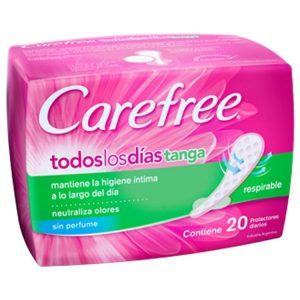 Protectores Femeninos Diarios Carefree Brisa Tanga