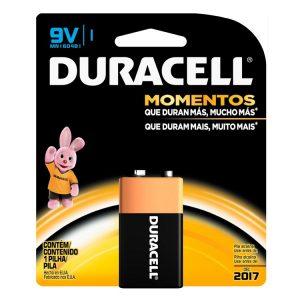 Bateria Duracell 9 Vo