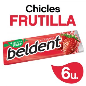 Chicles Beldent Frutilla