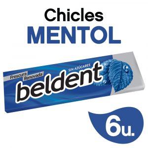 Chicles Beldent Mentol