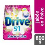 Jabón en Polvo Drive Regular Rosas y Lilas 1