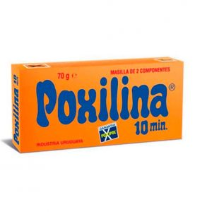 Adhesivo Poxilina Masilla
