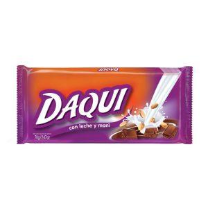 Chocolate Daqui Leche Mani
