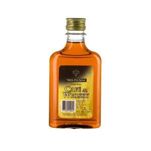 Licor de Café al Whisky Tres Plumas Petaca
