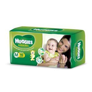 Pañal Huggies Verde Regular Talle Mediano