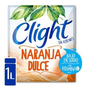 Jugo En Polvo Clight Naranja Dulce