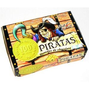 Chocolate Felfort Moneditas Piratas