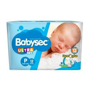 Pañal Babysec Ultrasec Talle Chico