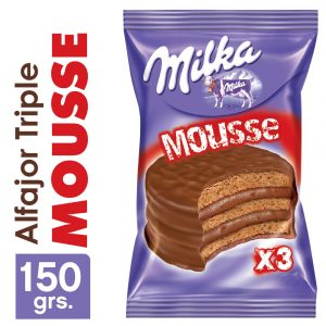 Alfajor Milka Triple Mousse