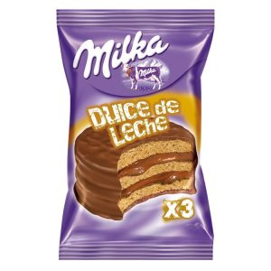 Alfajor Milka Triple Leche