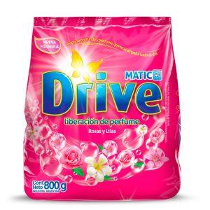 Jabón en Polvo Drive Matic Rosas y Lilas