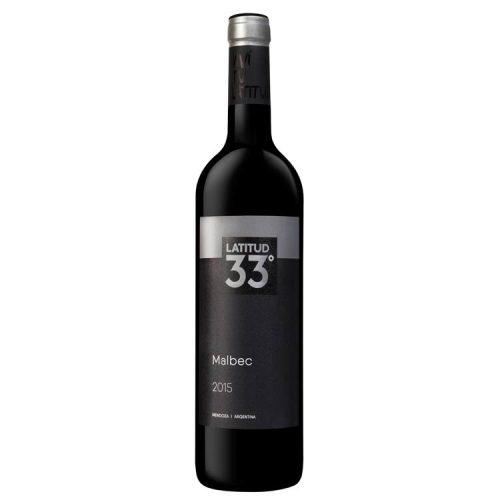 Vino Latitud 33 Malbec