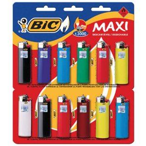 Encendedor Bic Maxi J6 Liso