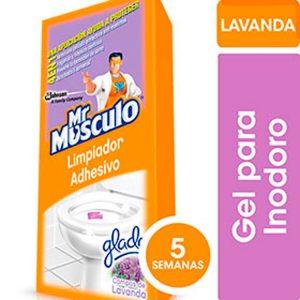 Limpiador Adhesivo para Inodoro Lavanda