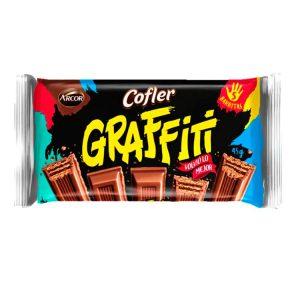 Oblea de Chocolate Negro Graffiti