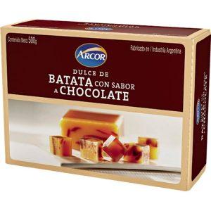 Dulce de Batata y Chocolate
