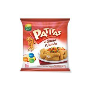 Patitas Queso Jamón