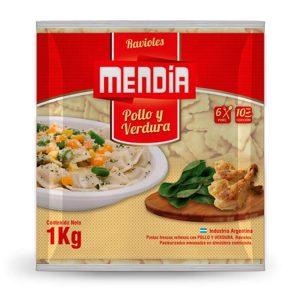 Ravioles Pollo Y Verdura