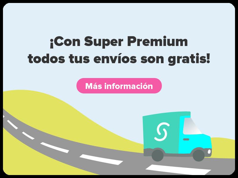 Envíos gratis con Super Premium